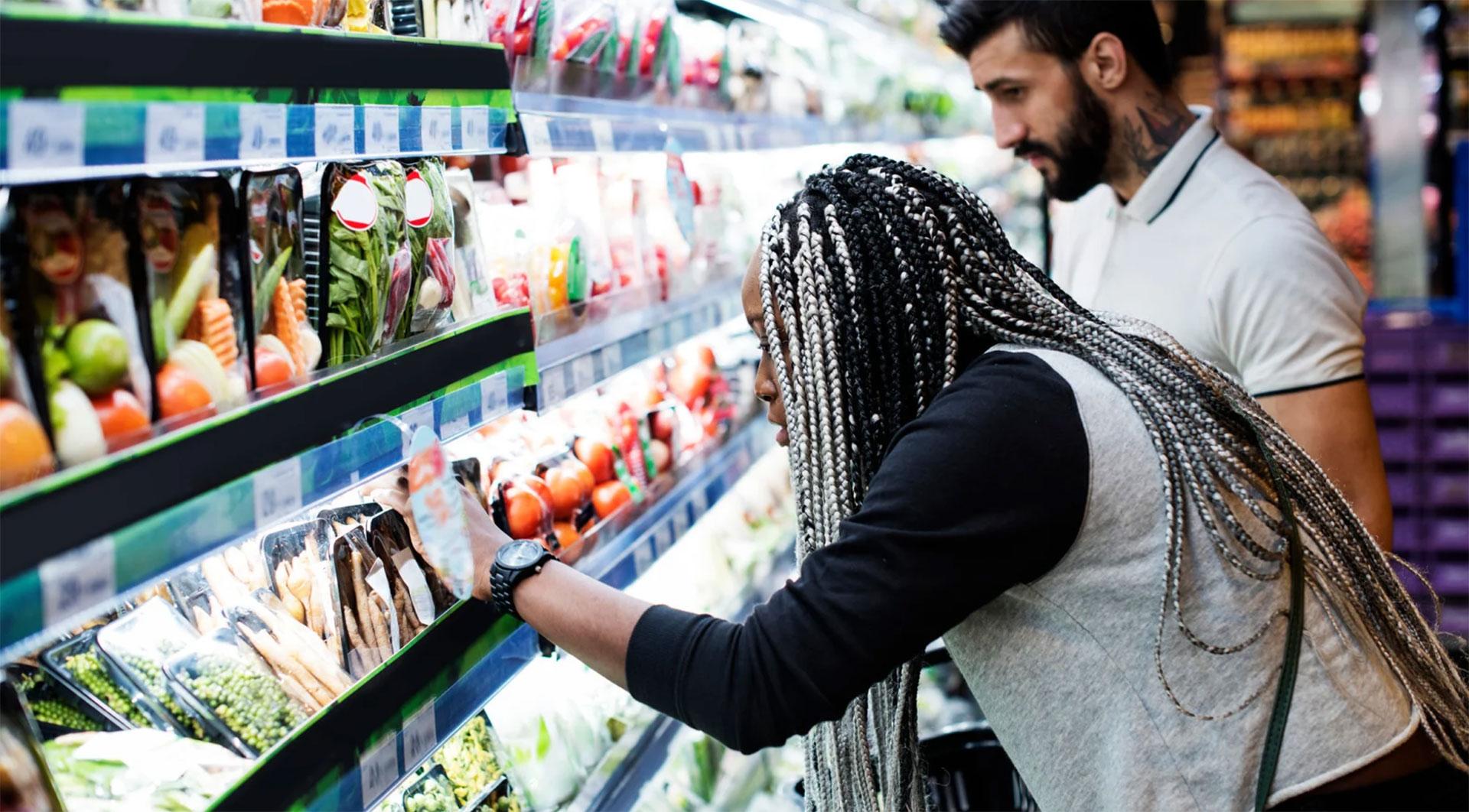 "No one has a ""regular"" supermarket"